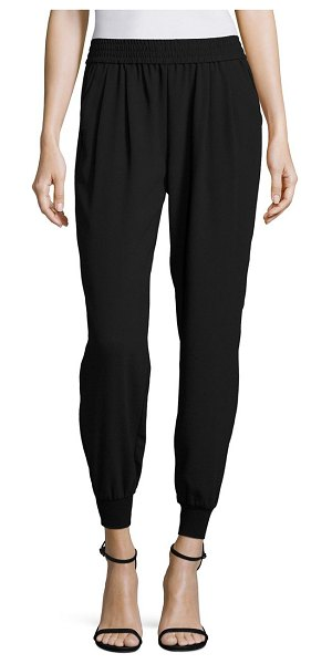 Joie mariner crepe trousers in caviar