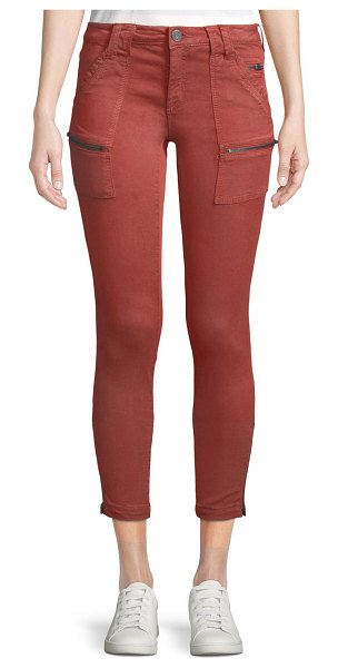 Joie Park Twill Skinny Jeans in tawny
