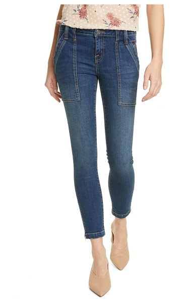 Joie park zip cuff ankle skinny jeans in cruise