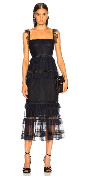 JONATHAN SIMKHAI Strapless Bustier Dress in black - Self: 100% poly - Lining 1: 100% silk - Lining 2: 93%...