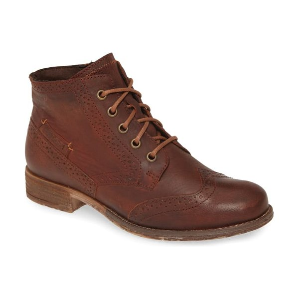 Josef Seibel sienna 74 bootie in camel leather