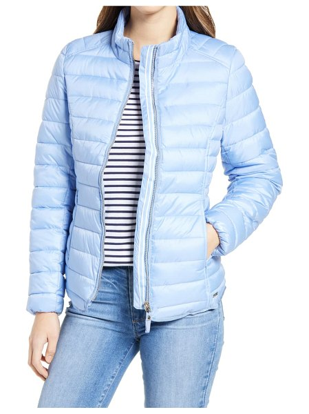 Joules canterbury puffer jacket in hazblue