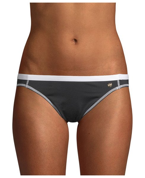 826fb460a5 Juicy Couture Logo Bikini Bottom in black combo - Essential bikini bottom  with contrasting design.