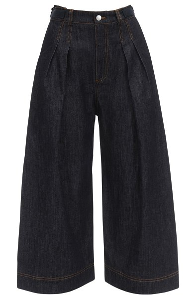 J.W.ANDERSON Cropped cotton denim pants in denim