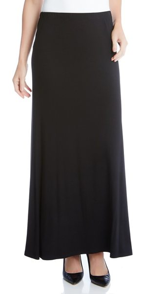Karen Kane maxi skirt in black