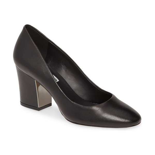 Karl Lagerfeld Paris sabrina pump in black nappa leather
