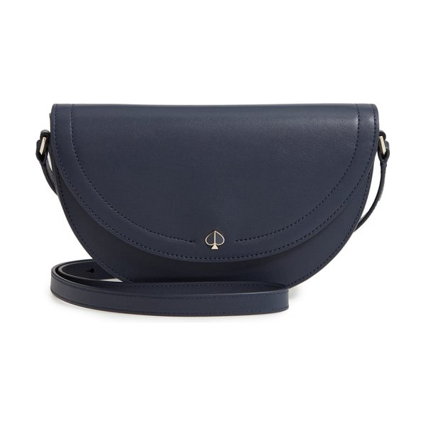 Kate Spade New York andi half moon crossbody bag in blazer blue