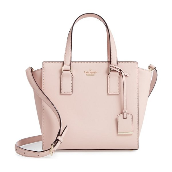 Kate Spade New York cameron street in warm vellum - Impeccable topstitching and gleaming goldtone hardware...