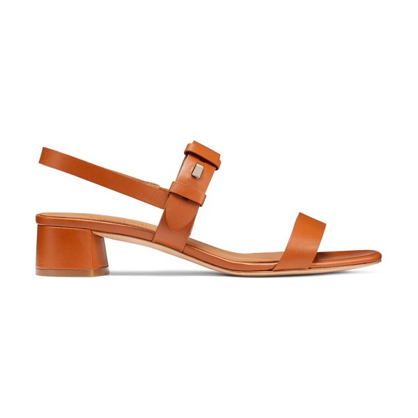 Kate Spade New York Lagoon Push Stud Sandals in hot cider