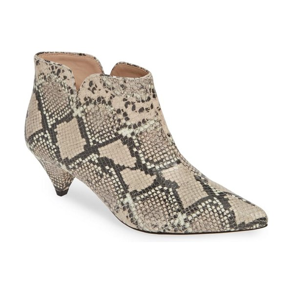 Kate Spade New York raelyn bootie in pale vellum multi - Feel especially sharp in this retro-inspired bootie made...