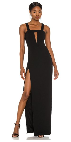 Katie May take the plunge dress in black
