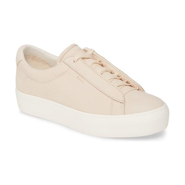 Keds keds rise metro nubuck hidden wedge sneaker in whisper pink
