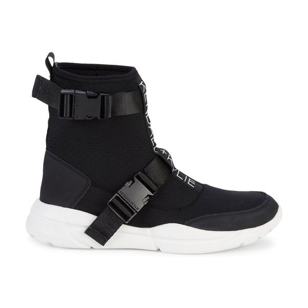 KENDALL + KYLIE Nemo Logo Boot Sneakers in black