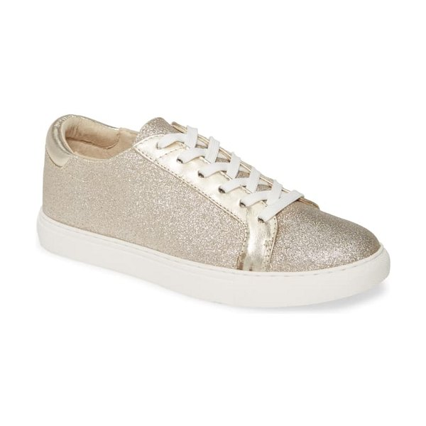 Kenneth Cole 'kam' sneaker in light gold leather
