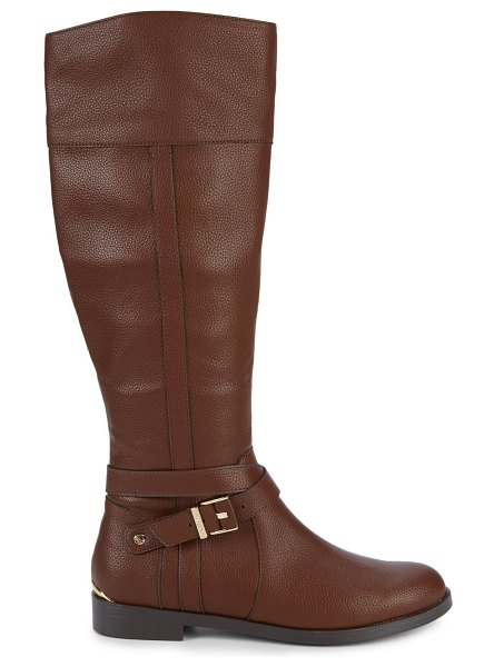 Kenneth Cole REACTION Wanda Knee-High Boots in brown