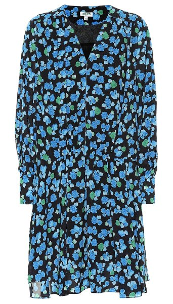 Kenzo floral dress in blue