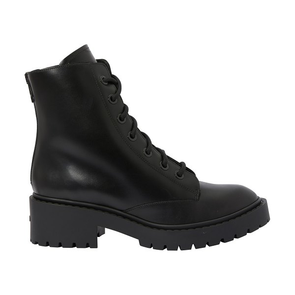 Kenzo Furry boots in black