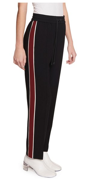 Kenzo Side-Stripe Jogger Pants in black