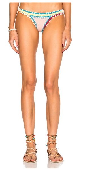 KIINI Luna Bikini Bottom - Self: 75% poly 14% nylon 11% spandex - Contrast Fabric:...