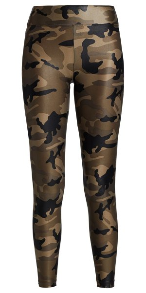 KORAL ACTIVEWEAR lustruous high-rise camouflage leggings in midnight camo,camo