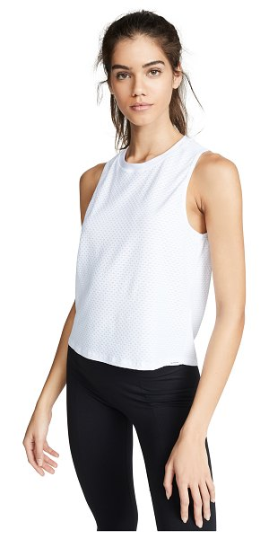 KORAL ACTIVEWEAR muscle tank in white