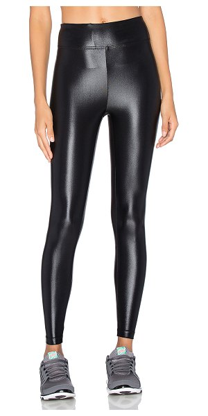 KORAL ACTIVEWEAR lustrous high rise legging in black