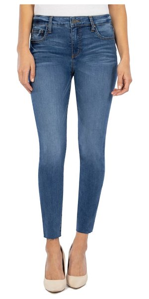 KUT from the Kloth connie fab ab high waist ankle skinny jeans in done