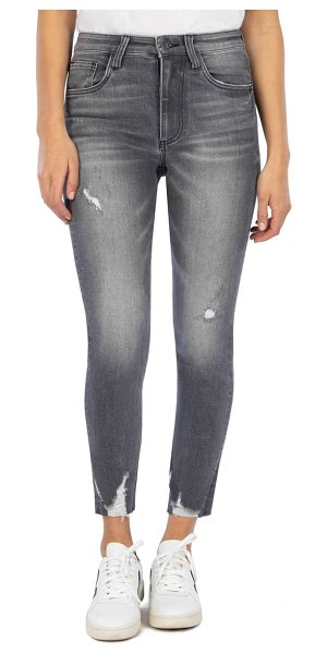 KUT from the Kloth connie high waist ankle skinny jeans in braver