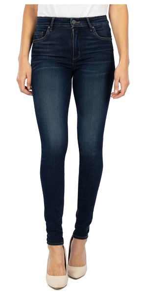 KUT from the Kloth mia high waist toothpick skinny jeans in endless