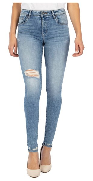 KUT from the Kloth mia high waist toothpick skinny jeans in enlightened