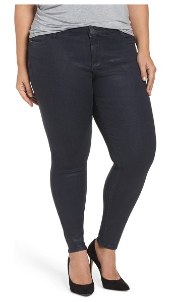KUT from the Kloth mia toothpick jeans in navy