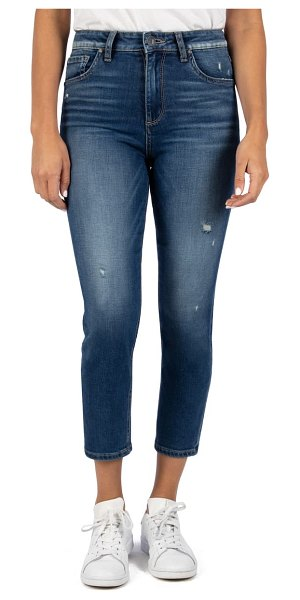 KUT from the Kloth naomi girlfriend ankle straight leg jeans in endurable