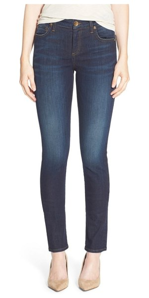KUT from the Kloth 'diana' stretch skinny jeans in blinding