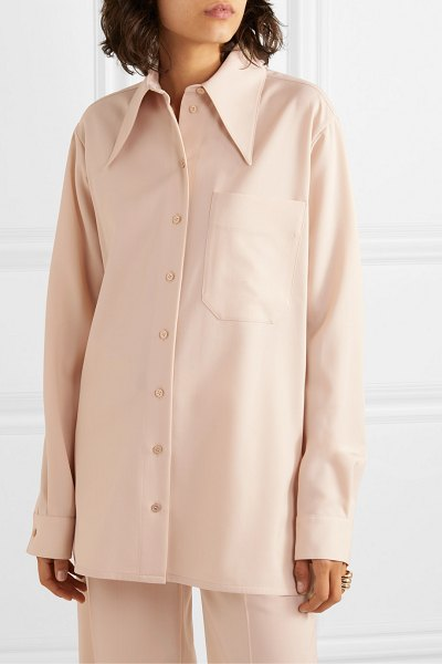 Kwaidan Editions twill shirt in beige