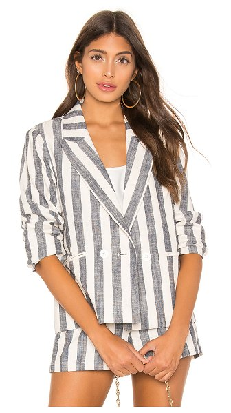L'Academie poppy blazer in navy stripe