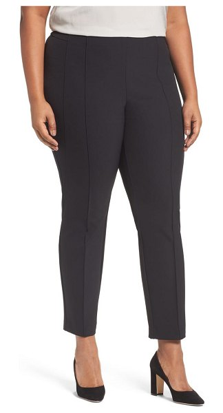 Lafayette 148 New York acclaimed gramercy stretch pants in black