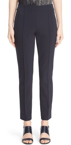Lafayette 148 New York gramercy acclaimed stretch pants in ink