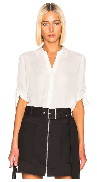 L'AGENCE isa top in white