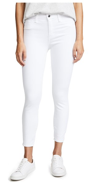 L'AGENCE margot high rise skinny jeans in blanc
