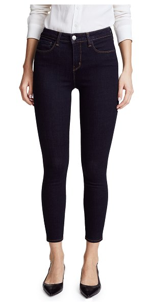 L'AGENCE margot skinny jeans in midnight