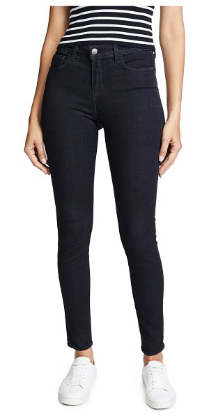 L'AGENCE marguerite high rise skinny jeans in eclipse