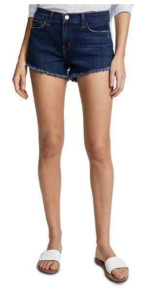 L'AGENCE zoe perfect fit shorts in authentique