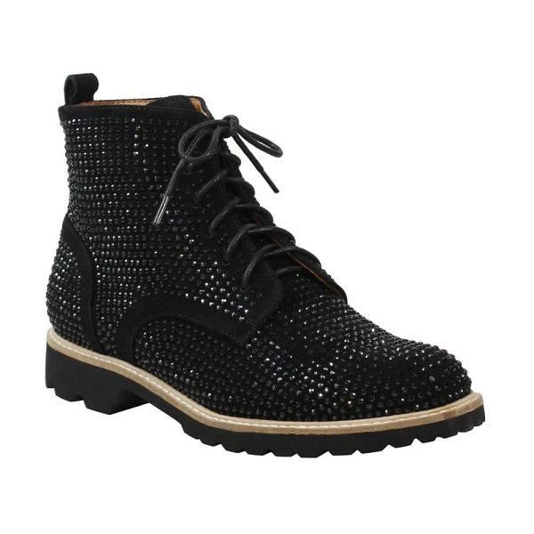 L'Amour des Pieds raynelle bootie in black suede