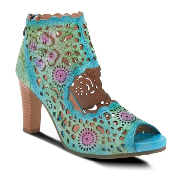 L'Artiste loverlee sandal in turquoise leather