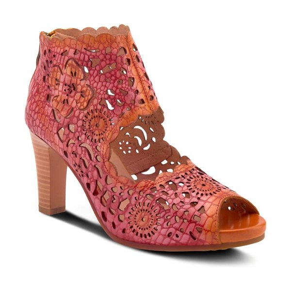L'Artiste loverlee sandal in orange leather
