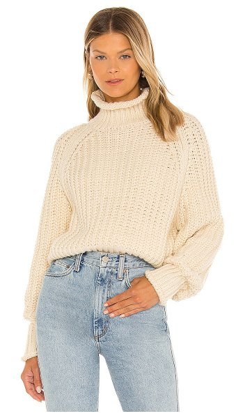 LBLC The Label jules sweater in creme