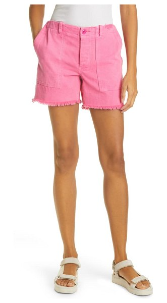 Le Superbe beach crawler cutoff shorts in hot pink
