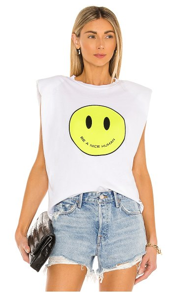 Le Superbe just be nice muscle tee in white