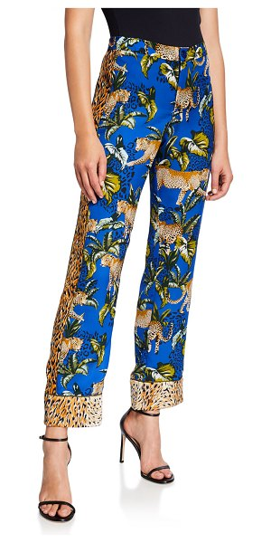 Le Superbe Voyage Printed Ankle Pants in leopard