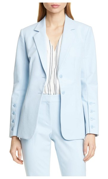 LEWIT blazer in blue falls